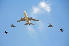 Un airshow des aéronefs précieux Image libre de droits