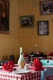 Un ajuste romántico Foto de archivo libre de regalías