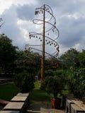 Un albero della campana Fotografia Stock Libera da Diritti