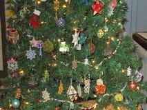 Un albero di Chrismas Fotografia Stock Libera da Diritti