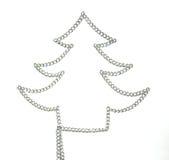 Un albero di nuovo anno Immagine Stock