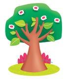 Un albero in primavera Fotografia Stock Libera da Diritti
