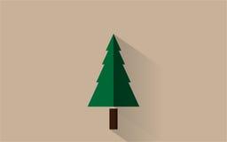 Un albero semplice Fotografia Stock