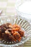 Un alimento tailandese antico immagine stock