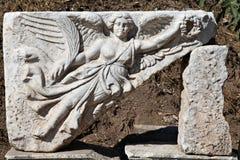 Un allégement dans la ville d'Ephesus Photographie stock libre de droits