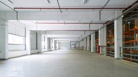 Un almacén grande de la fábrica Foto de archivo libre de regalías