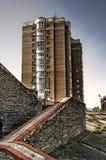 Alta costruzione a Kiev Immagini Stock