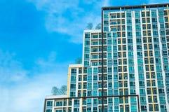 Un'alta torre del condominio di aumento Immagini Stock