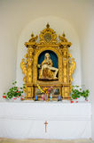Un altare cristiano. Immagini Stock Libere da Diritti