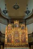 Un altare dorato Immagini Stock