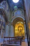 Un altare nella chiesa di Compania Fotografia Stock