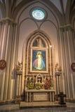 Un altare in una cattedrale Fotografia Stock Libera da Diritti