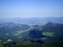 Un'altezza bavarese delle alpi di 1830 metri fotografia stock