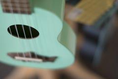 Un'altra bella chitarra blu Fotografia Stock Libera da Diritti