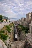 Un'altra prospettiva di vecchia città di Ragusa Fotografie Stock