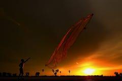 Un altro attemp - Perserverance - pescatore fotografia stock libera da diritti