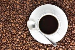 Un altro caffè? Immagini Stock Libere da Diritti