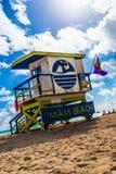 Un altro giorno alla spiaggia Immagine Stock Libera da Diritti