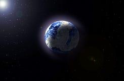 Un altro pianeta Immagini Stock Libere da Diritti