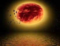 Un altro pianeta Immagine Stock