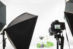 Un altro progetto nello studio della foto Fotografia Stock Libera da Diritti