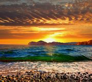 Un altro tramonto Immagine Stock