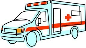 Un'ambulanza Fotografia Stock Libera da Diritti
