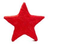 Un amorçage rouge a effectué l'étoile Photo stock