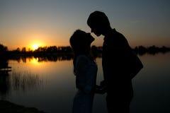 Un amore Fotografia Stock Libera da Diritti