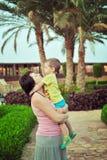 Un amour de mère Photographie stock libre de droits