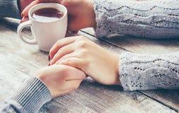 Un amour de tasse Foyer sélectif Image stock