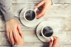 Un amour de tasse Foyer sélectif Photographie stock libre de droits