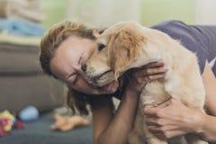 Un amour des animaux Photo libre de droits