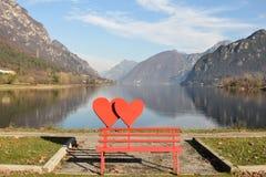 Un amour du lac - lac d'Idro Photo libre de droits