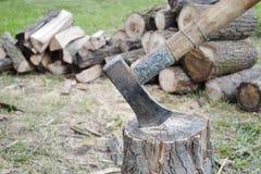 Un amour en bois Image stock