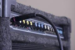 Un amplificateur de guitare Images libres de droits