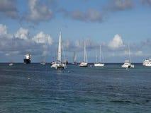 Un ancladero ocupado en las islas de barlovento metrajes