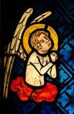 Un ange dans la prière photos stock