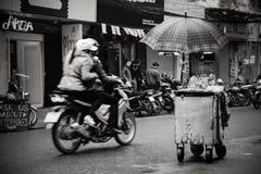 Un angolo di Hanoi Immagini Stock