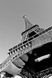 Un angolo su Eiffel Fotografia Stock