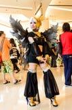 Un anime japonés no identificado cosplay. Fotografía de archivo