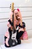 Un anime japonés no identificado cosplay. Fotos de archivo libres de regalías