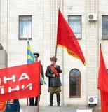 Un anniversaire de révolution d'octobre. Images libres de droits