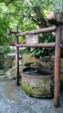 Un antique bien en style de dynastie de Han, à Chengdu, la Chine, Images stock