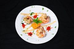 Un aperitivo tailandés del camarón del estilo Fotografía de archivo libre de regalías