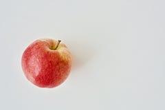 Un Apple rosso Fotografia Stock Libera da Diritti