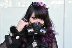 Apprettatrice di cosplay Fotografia Stock Libera da Diritti