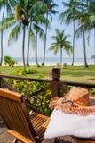 Un après-midi paisible en île de vacances Image libre de droits