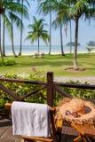 Un après-midi paisible en île de vacances Photo libre de droits