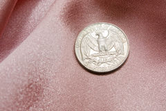 Un'aquila dai 25 centesimi degli Stati Uniti Fotografia Stock Libera da Diritti